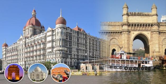 Golden Triangle with Mumbai