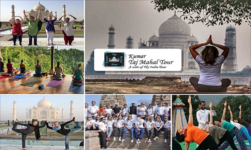 Yoga with Khajuraho Heritage Tour
